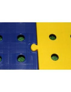 M2. PAVIMENTO PLACAS PVC REJILLAS 50X50X2,5 CMS COLOR AZUL