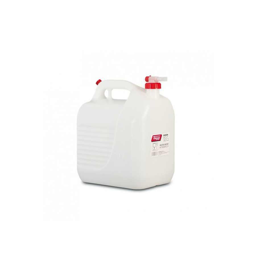bid n 10 litros con grifo para agua tayg en importaciones