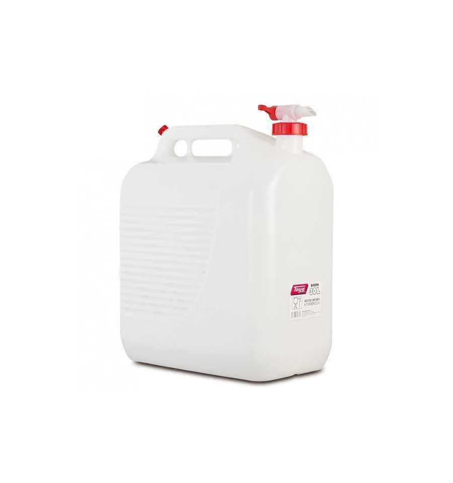 Bid n 30 litros con grifo para agua tayg en importaciones for Bidon 30 litros cierre ballesta