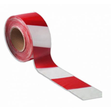 Banda roja y blanca 200 metros