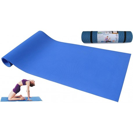 Esterilla Yoga pilates de pvc de 6 mm