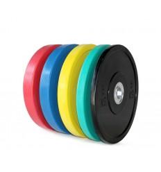 Disco Olímpico Bumper de Colores