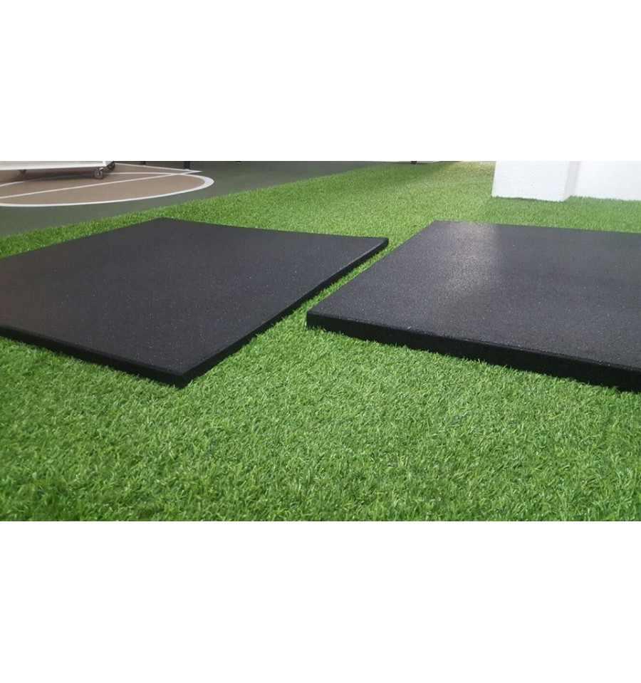 Losas de caucho para pavimentos exteriores 1 00x1 00m y - Losas para exterior ...
