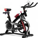 Bicicleta Spinning estática MG-500 Negra. Silenciosa