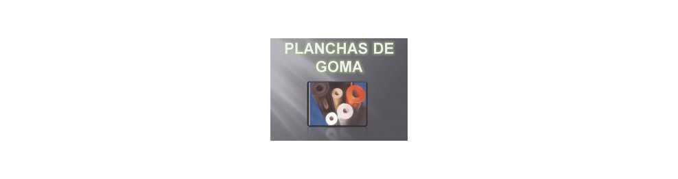 PLANCHAS DE GOMA POR ROLLO