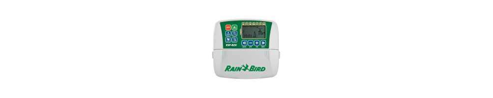 Programadores de riego Rain Bird