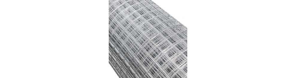 Cierres industriales, fabricadas con mallas de cuadradillos metálicas