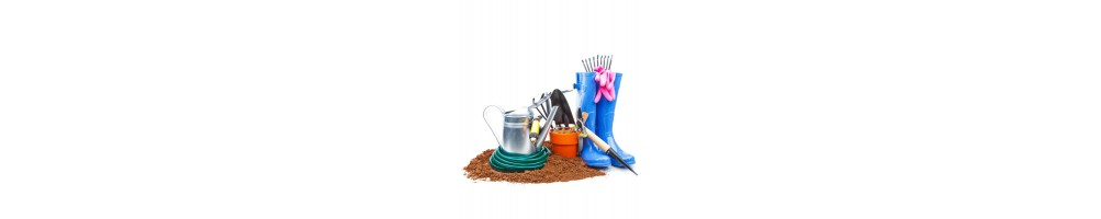 Accesorios y materiales de jardinería. Tienda On Line
